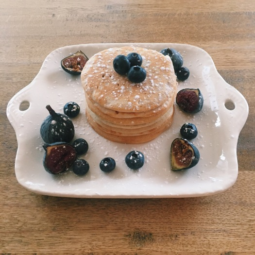 Coconut and Cinnamon Vegan Pancakes