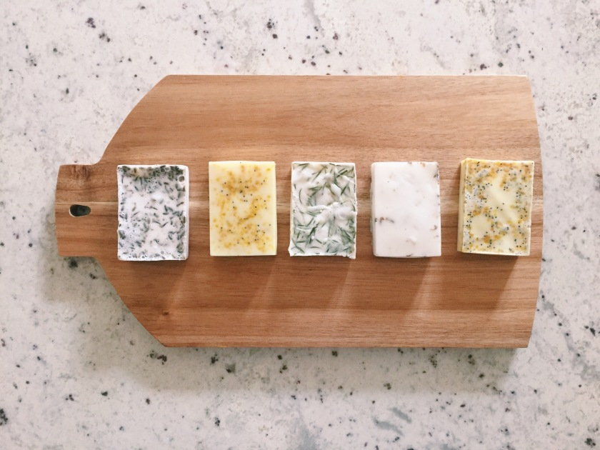 Homemade Sustainable Soaps