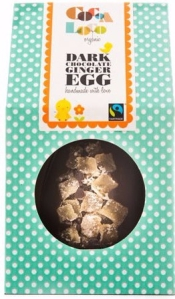 cocoa loco fairtrade dark chocolate egg