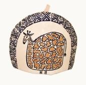 Giraffe tea cosy