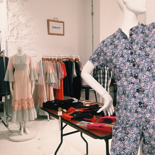 Ethical Pop Up & Sample Sale in London today