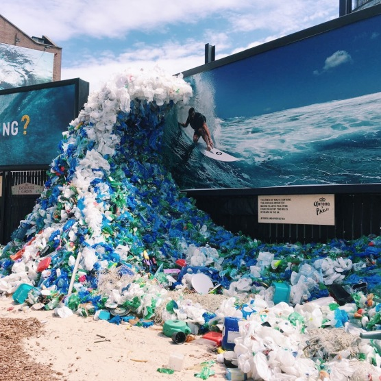 How does 8 million tonnes of plastic get into the ocean each year?